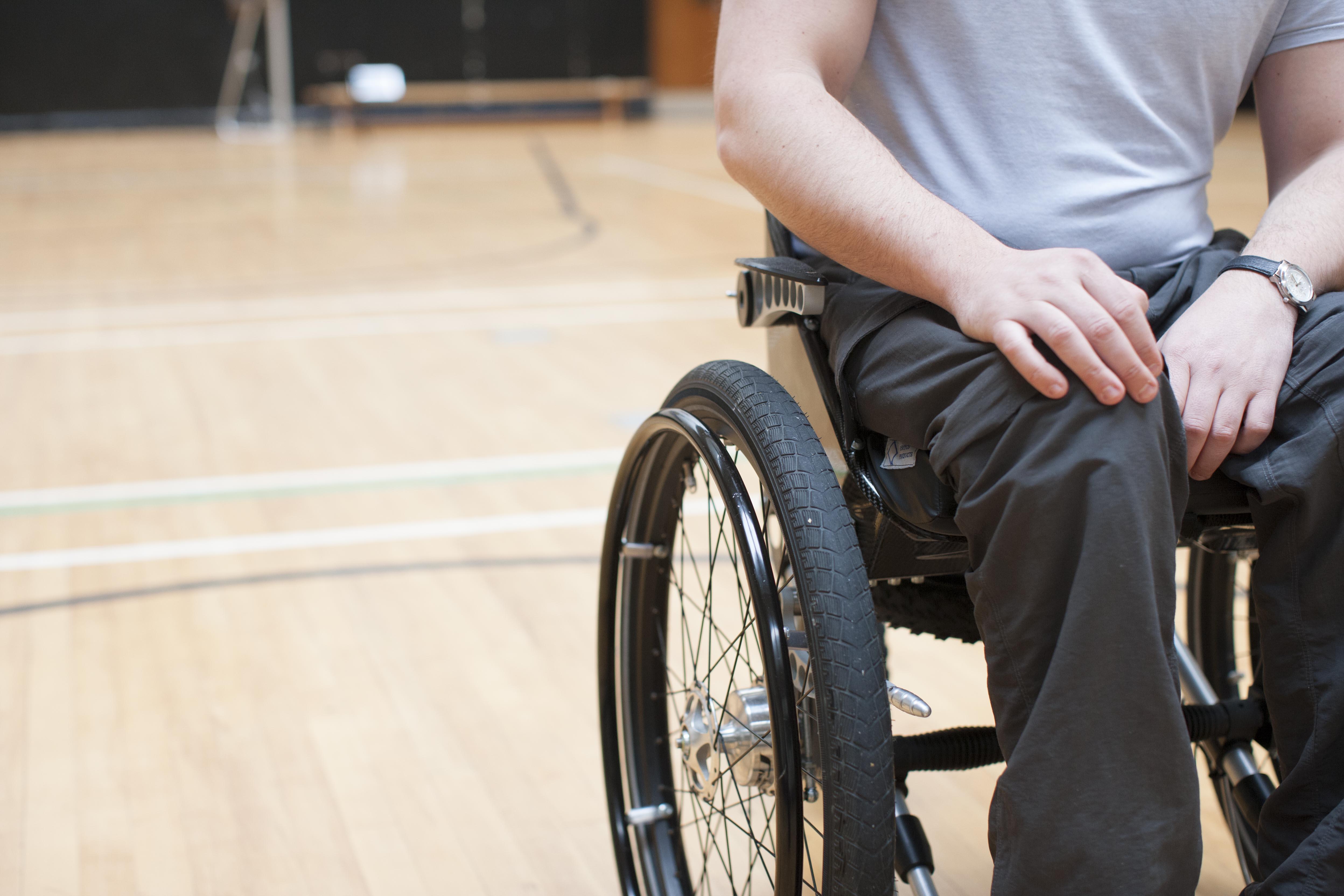 Mark in Wheelchair