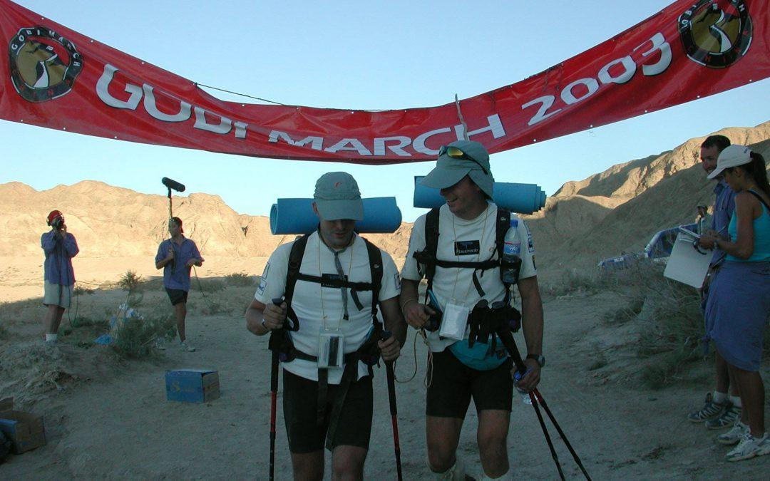 Mark runs 6 marathons in 7 days in the Gobi Desert