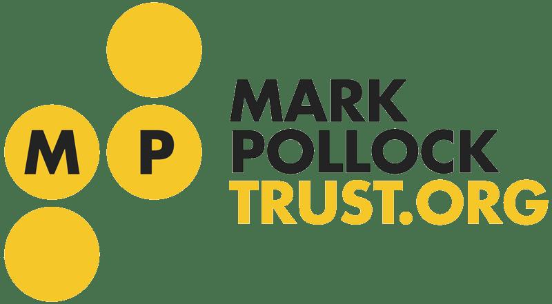 visit mark pollock trust - footer link